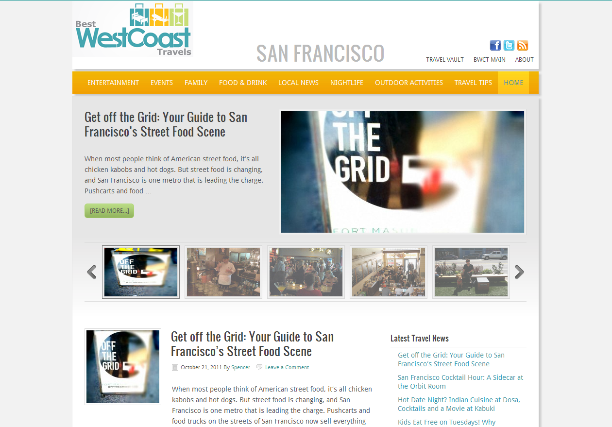 Best West Coast Travels - San Francisco (a Travelocity blog)